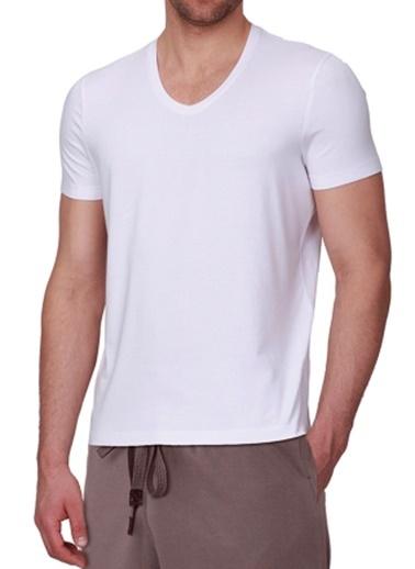 Arthur Erkek V Yakalı Tshirt-Chakra